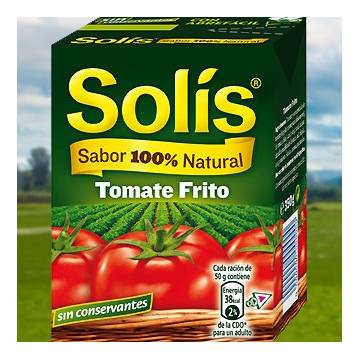 FRIED TOMATO SAUCE 350G SOLIS
