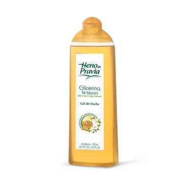"SHOWER GEL GLYCERINE & WHITE TEA ""HENO DE PRAVIA"""