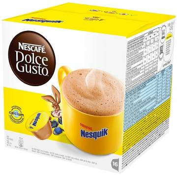 "CHOCOLATE IN CAPSULES ""NESQUIK"""