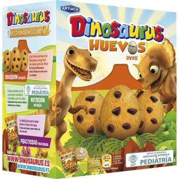 "BISCUITS DINOSAURS OEUFS ""ARTIACH"" (140 G)"