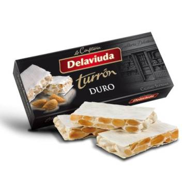 "HARD ALMOND TURRON -GLUTEN FREE- ""DELAVIUDA"" (250 G)"