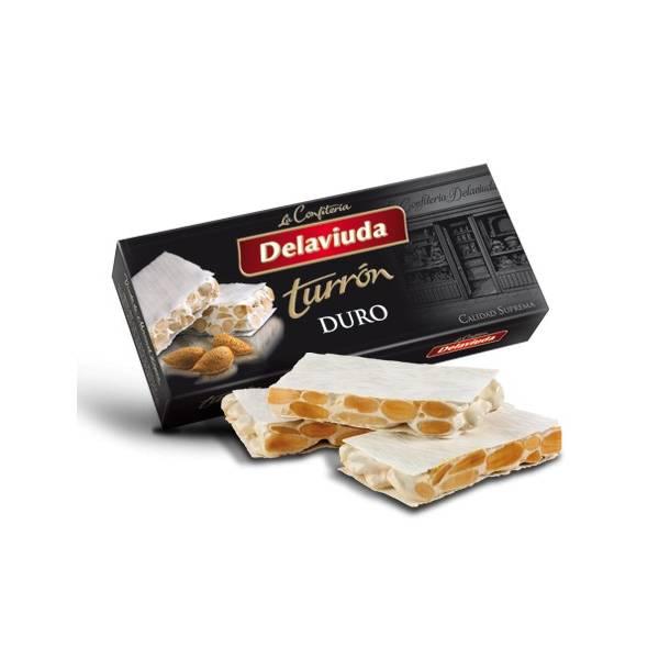 """TURRÓN DURO """"DELAVIUDA"""" (250 G)"""