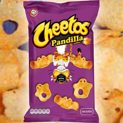 CHEETOS SNACK PANDILLA cheese flavor