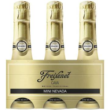 CAVA CARTA NEVADA SEMISECO PACKx3 FREIXENET