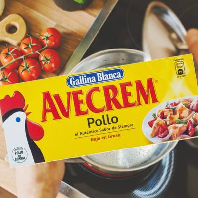 "AVECREM CHICKEN BROTH 12 CUBES ""GALLINA BLANCA"""