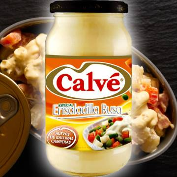 "SPECIAL MAYONNAISE FOR RUSSIAN SALAD 450 ML ""CALVÉ"""