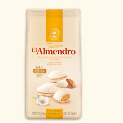 ALMONDS STUFFED WITH TURRON 150G EL ALMENDRO