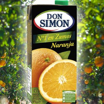 "ORANGENSAFT 1L ""DON SIMON"""