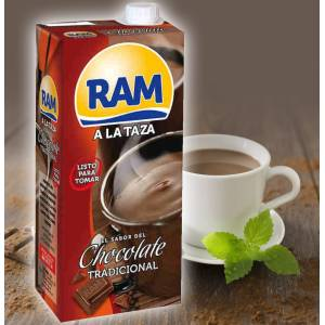 "THICK TRADITIONAL CHOCOLATE ""RAM"" 1L"
