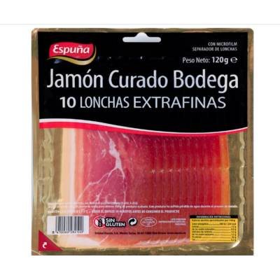 EXTRA THIN CURED HAM 120 G. ESPUÑA