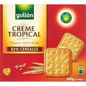 "GOLDEN BISCUITS CREME TROPICAL ""GULLÓN"" (800 G)"