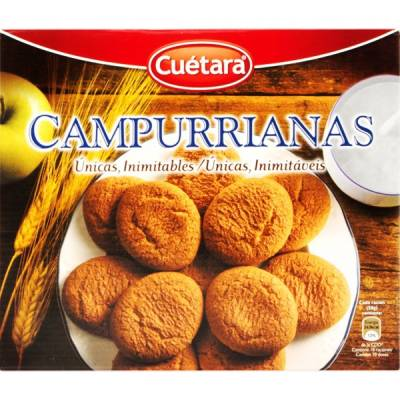 "BISCUITS CAMPURRIANAS ""CUÉTARA"" (500 G)"