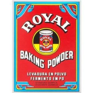 "BAKING POWDER ""ROYAL"""