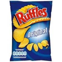 CHIPS ONDULÉS ORIGINAL 160G RUFFLES
