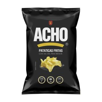 "POTATO CHIPS WITH SALT AND OLIVE OIL ""ACHO"""