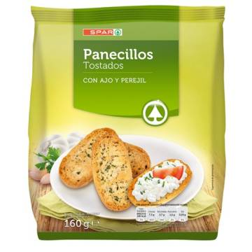 GARLIC AND PARSLEY TOASTED BREAD 160G SPAR