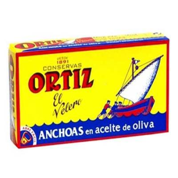 ANCHOAS EN ACEITE DE OLIVA ORTIZ
