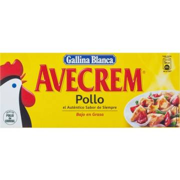 "AVECREM CHICKEN BROTH 8 CUBES ""GALLINA BLANCA"""