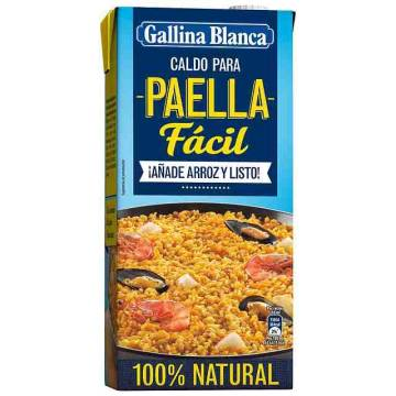 PAELLA BROTH 1L GALLINA BLANCA
