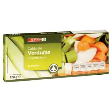 "VEGETABLE BOUILLON 12 CUBES ""SPAR"""