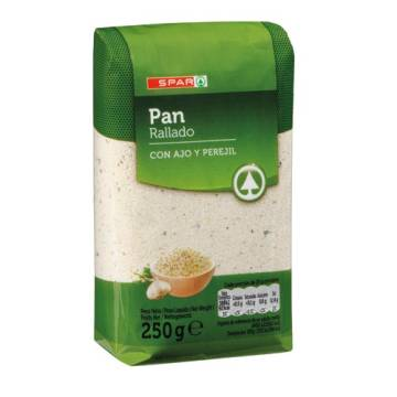 BREADCRUMBS WITH GARLIC AND PARSLEY 250G SPAR