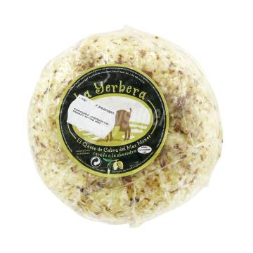 GOAT CHEESE FROM THE MAR MENOR WITH ALMOND 500G YERBERA