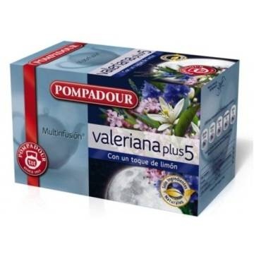 "VALERIAN PLUS 5 WITH LEMON ""POMPADOUR"""