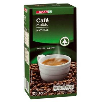 "NATURAL ROAST COFFEE 250 G ""SPAR"""