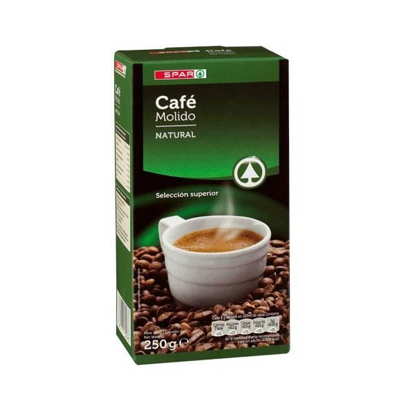 "NATURAL ROAST COFFEE 250G ""SPAR"""