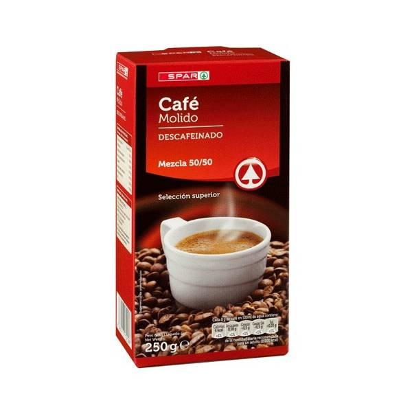 CAFÉ MOLIDO DESCAFEINADO SPAR