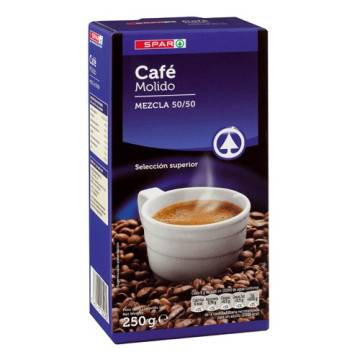 "GROUND MIXED COFFEE 250 G ""SPAR"""