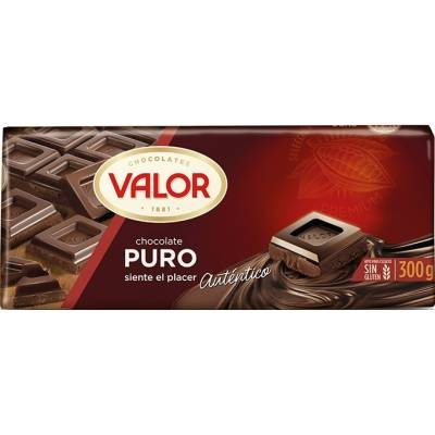"PLAIN CHOCOLATE ""VALOR"""