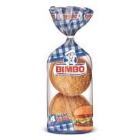 PAN HAMBURGUESAS MAXI4 BIMBO