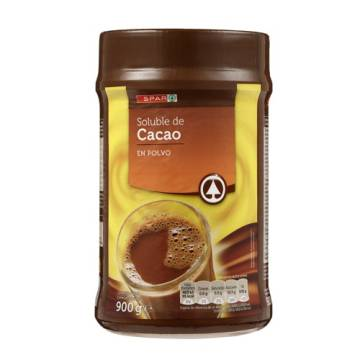 CHOCOLATE POWDER POT 900G SPAR