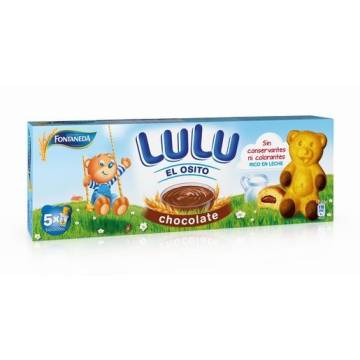 "BISCUITS WITH CHOCOLATE LITTLE BEAR LULU ""FONTANEDA"" (150 G)"