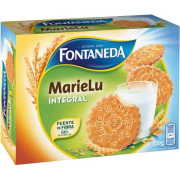 "WHOLE WHEAT BISCUITS MARIELU ""FONTANEDA"" (520 G)"