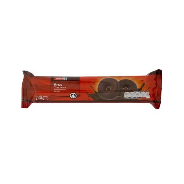 AROS DE CHOCOLATE  NEGRO  SPAR