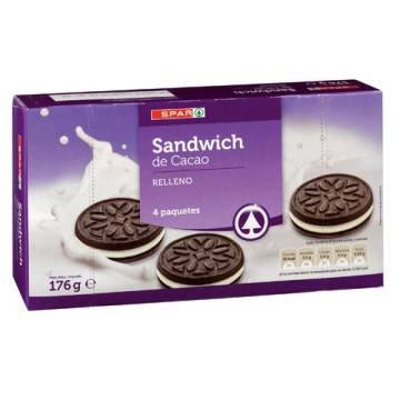 "BISCUITS COCOA SANDWICH ""SPAR"" (176 G)"