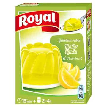 ROYAL lemon jelly