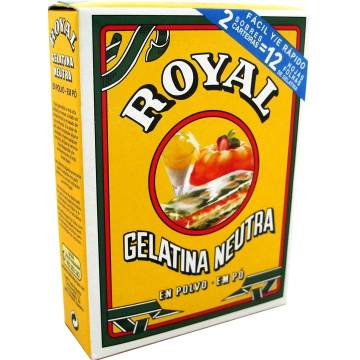 "GELATINA NEUTRA EN POLVO ""ROYAL"""