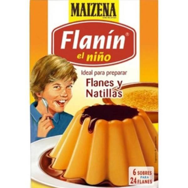 """FLANÍN EL NIÑO FLANES Y NATILLAS """"MAIZENA"""""""