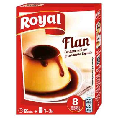 "FLAN (SPANISH CUSTARD) ""ROYAL"""