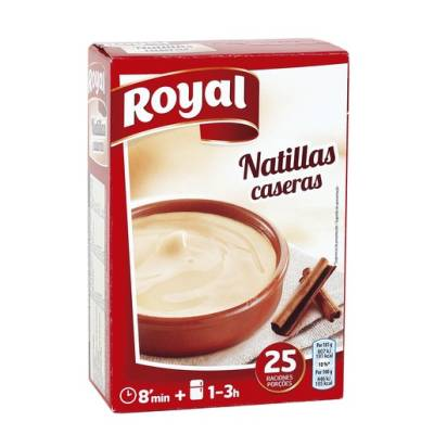 "CUSTARD ""ROYAL"""