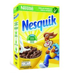 NESQUIK CEREALES INTEGRALES CON CHOCOLATE 375G NESTLÉ