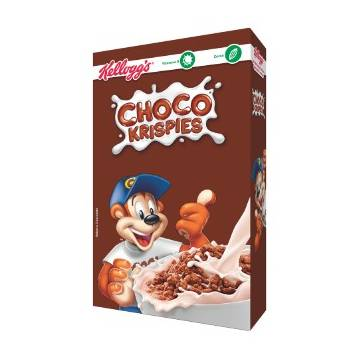 "CHOCO KRISPIES ARROZ TOSTADO SABOR CHOCOLATE ""KELLOGG'S"""