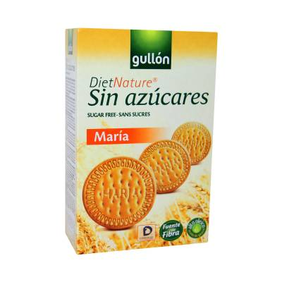 GALLETA MARIA DIET NATURE SIN AZUCARES GULLON