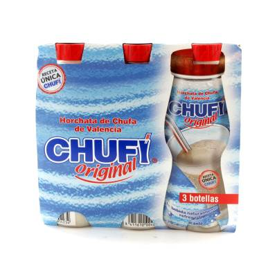HORCHATA ORIGINAL CHUFI 3X250ML