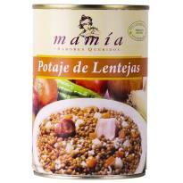 RAGOÛT DE LENTILLES 400G MAMÍA