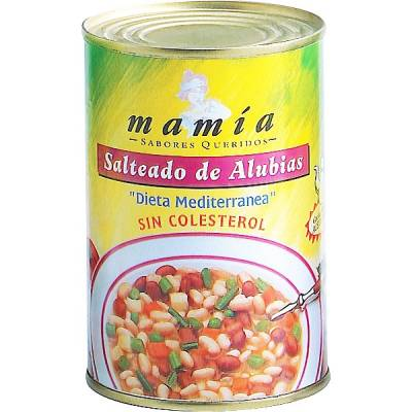 SALTEADO DE ALUBIAS MAMÍA