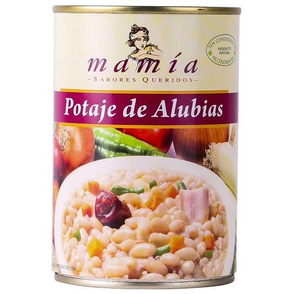 POTAJE DE ALUBIAS MAMÍA